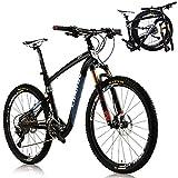 CHANGE 26 inch Full Size Mountain Folding Bike Shimano XT 2x11 speeds Size: 17inch (18 inch)