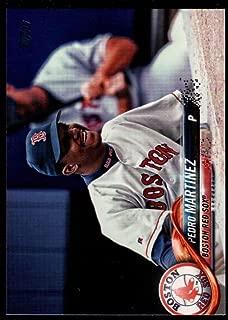 Baseball MLB 2018 Topps Update Short Print Variations #US23 Pedro Martinez SP Red Sox