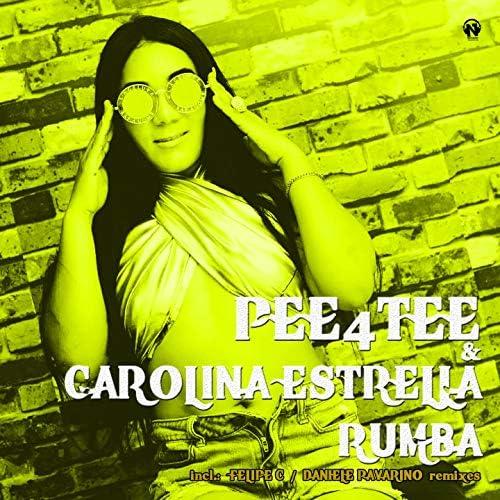 Pee4tee & Carolina estrella
