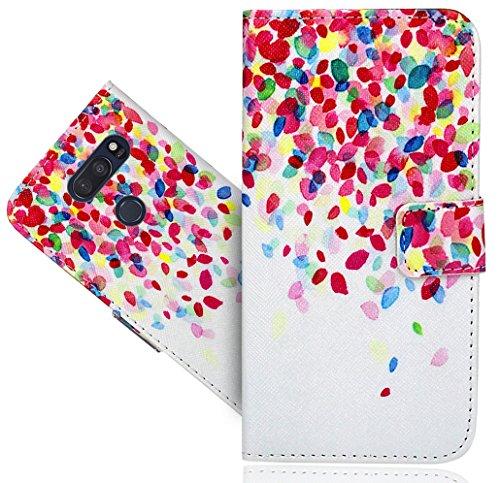 LG V35 ThinQ/V35+ ThinQ Handy Tasche, FoneExpert Wallet Hülle Flip Cover Hüllen Etui Hülle Ledertasche Lederhülle Schutzhülle Für LG V35 ThinQ/V35+ ThinQ