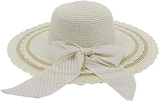 2019 Mens Womens Hats Womens 2019 Jazz Hat Seaside Sunscreen Sun Hat Beach Summer Straw Hat Sun Hat Bow Stripes Fashion Visor UV Protection Travel Cap Casual Lightweight