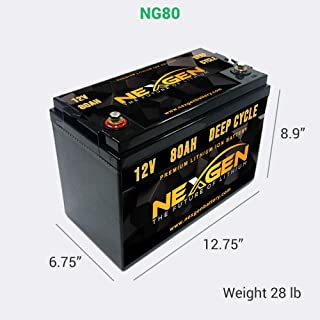Best 12v 80ah lithium ion battery Reviews
