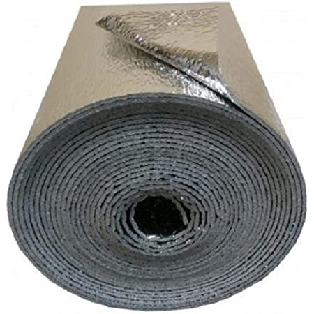 US Energy Products 3MM Reflective Foam Insulation Shield, Heat Shield, Thermal Insulation Shield Radiant Barrier 16 x10ft R7-21