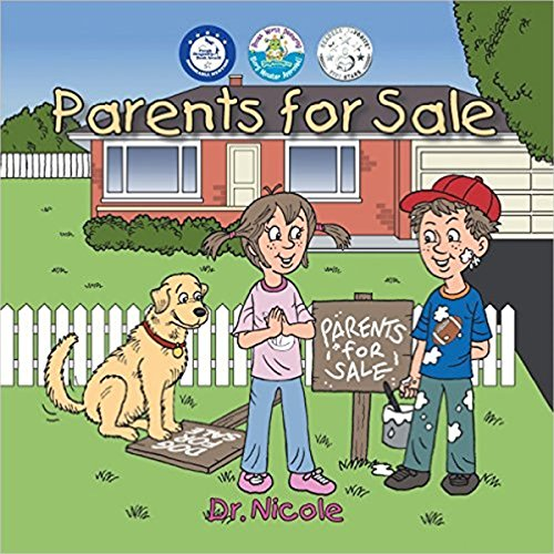 Parents for Sale - Story Monster Approved audiobook cover art