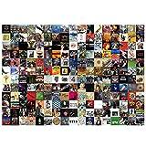 Puzzles para Adultos, Puzzle de 1000 Piezas -Puzzle Paisajes naturales y puzzles de rock and roll, Obra de Arte de Juego de Rompecabezas para(Rock Puzzle A-1000 piezas)