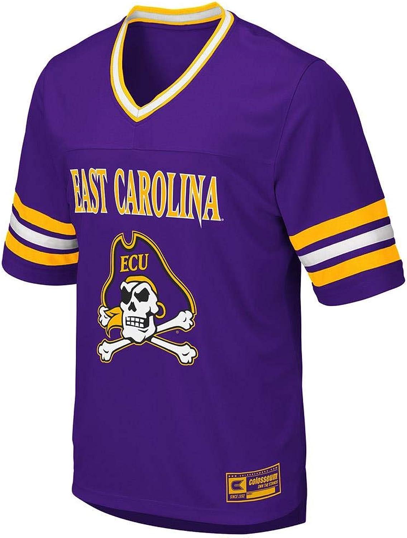 Colosseum Mens ECU East Carolina Pirates Football Jersey