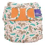 Bambino Mio, mioduo cobertor de pañal reutilizable, gato salvaje, talla 2 (9 kg+)