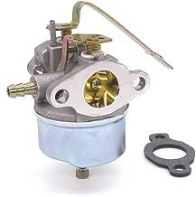 Atoparts Carburetor for Tecumseh Gasket 632615 632208 632589 Carb H30 H35 H50 3.5HP Motor