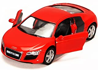 Audi R8, Red - Kinsmart 5315D - 1/36 scale Diecast Model Toy Car