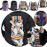 犬用 猫用 抱っこバッグ バッグ リュックサック 5カラー S〜XLサイズ ドック キャット 前抱き 後ろ抱き 抱っこひも 両肩 中小型犬 ショルダータイプ キャリーバッグ マルチカラーM