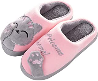 Gato Zapatillas de Casa para Mujer Slippers Hombre