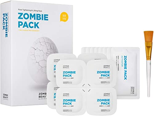 SKIN1004 Zombie Pack (Set Of 8 Facial Treatments) - Special Facial Mask For Sebum Controlling, Pore-Tightening, Hydrating, And Rejuvenating Effect (1 Box (8 Masks)) product image