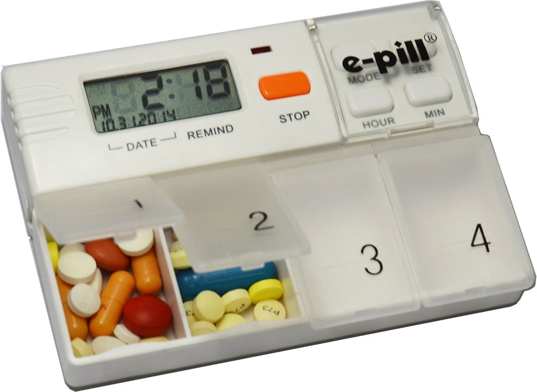 pill MedGlider Alarm Pillbox Organizer