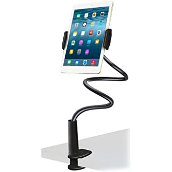 Rosegold 4 to 10.5 inch Screen is Universal. Mobile Phone Rack Lazy Person Bracket Bedside TV Universal use