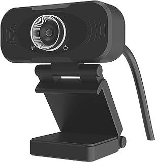 Xiao mi - Webcam Full HD con microfono stereo, webcam per videochat e registrazione, per YouTube, Skype videochiamate, app...