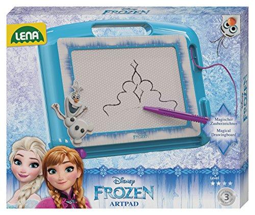 LENA 65689 - Segnalibro Disney La Regina di Ghiaccio, 30,5 x 20,5 x 2 cm