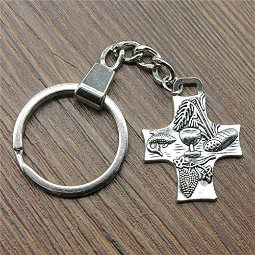 Vintage remember the monments Key Rings Fashion Car Keychain Silver Color Metal Key Chains Accessory