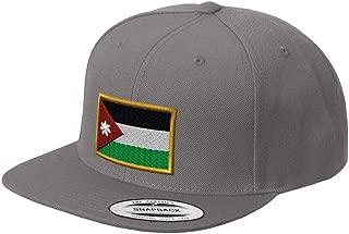 Custom Snapback Baseball Cap Jordan Embroidery Design Acrylic Cap Snaps
