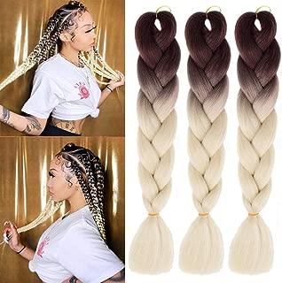 Best jumbo box braids white girl Reviews