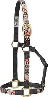 编织皮革 non-adjustable 图案尼龙马吊带