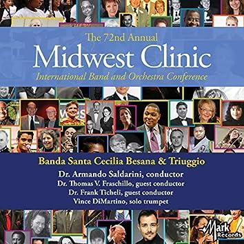 2018 Midwest Clinic: Banda Santa Cecilia Besana & Triuggio (Live)