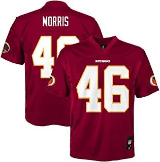 Outerstuff Alfred Morris NFL Washington Redskins Mid Tier Home Maroon Jersey Youth (S-XL)