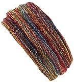Guru-Shop Magic Hairband, Dread Wrap, Schlauchschal, Stirnband, Mütze, Herren/Damen, Loopschal Regenbogen, Baumwolle, Size:One Size, Stirnbänder Alternative Bekleidung