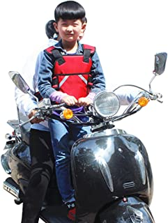 Superdream Children Motorcycle Safety Seats Belt Harness for Riding Horseback Snowmobile (Red)