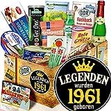 Legenden 1961 / 1961 Geschenkpaket / DDR Spezialitäten Geschenkset
