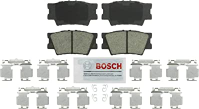 Bosch BE1212H Blue Disc Brake Pad Set with Hardware for Select 2006-15 Lexus, Pontiac, and Toyota Vehicles - REAR
