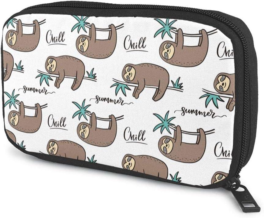 Cool Cartoon Sloth Electronics Travel Product Excellent Bag Organizer Gadget Tech