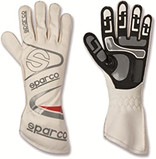 Sparco 00253207BI Arrow K White Size-07 Karting Gloves