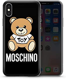 TMEZYOZKE Funda iPhone X/XS,Nasxsrna Tvwwy Yvzr Design Anti-Scratch Transparent TPU Cover Case