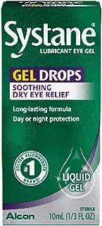 Systane Lubricant Eye Gel Drops 10 ml, 2 Count