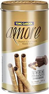 Tong Garden Amore Peanut Chocolate Wafer Roll, 300g