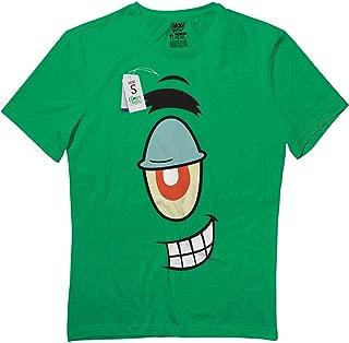 Plankton-Halloween Group Costume Cartoon Face Funny NZ9 T-Shirt Irish Green