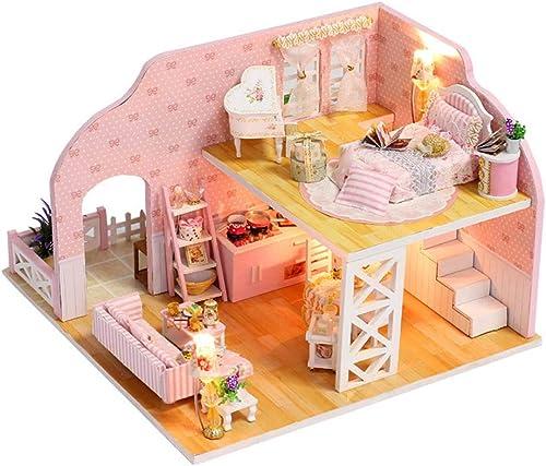 DIY Cabin Handmade Prague Dream House Model Assembled Toys