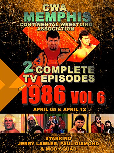 CWA Memphis Wrestling 2 Complete TV Episodes 1986 Vol 6