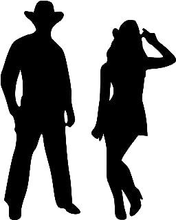 Black - Cowboy & Cowgirl 5.5