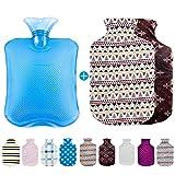 Omasi borsa dell'acqua calda ecologica/peluche/grande/borsa acqua calda,Gomma Premium PVC di borsa per acqua calda 1.8 litri Per Crampi