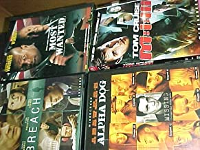 Most Wanted , Mission Impossible 3 , Alpha Dog , Breach : Crime Action 4 Pack Collection