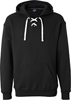 J. America Men's Sports lace up hoodie sweatshirt
