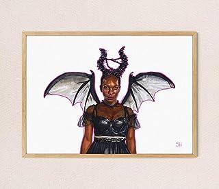 I MAY DESTROY YOU Ink Drawing - Fine Art Giclee Print - Michaela Coel Arabella Portrait A5 A4 A3 size artwork