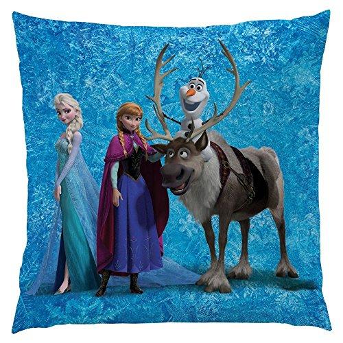 La Reine des Neiges - Disney Frozen - Enfants Coussin - Team 40x40cm