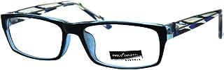 Clear Lens Glasses Unisex Fashion Rectangular Frame Eyeglasses