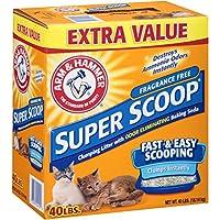 Arm & Hammer Super Scoop Unscented Baking Soda Clumping Litter