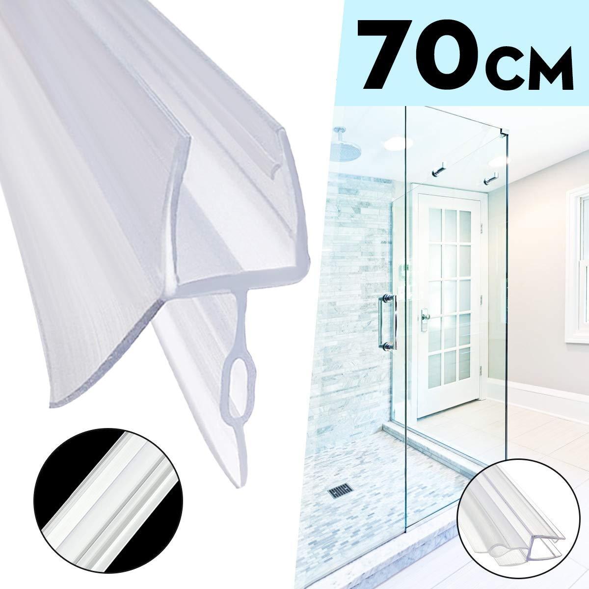 Tira de anillo de sellado para mampara de ducha o baño, grosor de 4 a 6 mm: Amazon.es: Bricolaje y herramientas