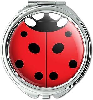 Lady Bug Ladybug Insect Compact Purse Mirror