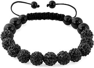 Best mens black shamballa bracelet Reviews