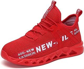 Hoylson Baskets Mode Enfants Garçon Filles Chaussures de Course Respirant Sneakers de Sport 26-38